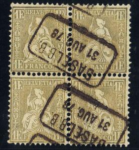 CH 36 VB Mi.Nr.: 28 c