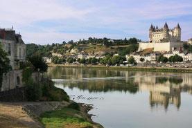 château de Saumur Loire location canoë kayak