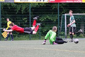 Abstiegskampf pur - HSG Uni bringt Hengste zu Fall und sichert sich drei enorm wichtige Punkte! (Foto: R.Krumbholz)