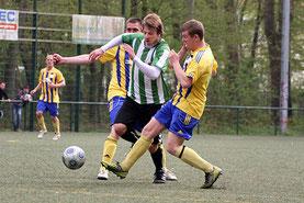 Szymon Rompczyk machte eine starkes Spiel und war kaum aufzuhalten. (Foto: R.Krumbholz)