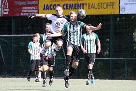 Auch Kapitän Florian Nötzel konnte die Niederlage nicht verhindern! (Foto: R.Krumbholz)