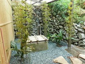 庭の施工 : 羽木庭園 27-6128