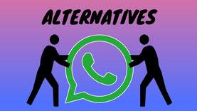5 alternatives à WhatsApp et Messenger