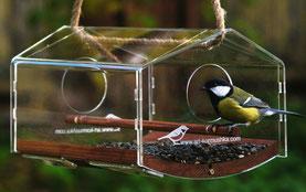 Купить дизайнерскую кормушку для птиц. Производство  Арт Кормушка.