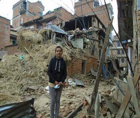 昨年、エコロジーオンラインが支援したネパール大地震の状況