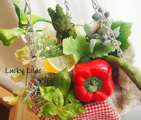 「Salad hanging basuket」