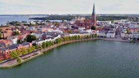Luftbilder von Schwerin mit Pfaffenteich