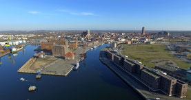 Luftbilder Wismar Drohne Ostsee