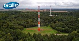 Luftbild von Marlow - Haarp Anlage bei Rostock