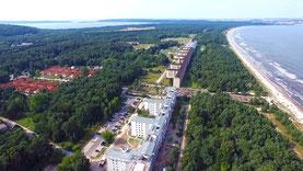 Luftbilder TV Kopter Prora KDF- Nazi bau