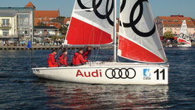 Audi Müritz Matchrace 2014 - Luftbilder Waren Müritz - LuftFilm