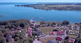 Luftbilder Röbel Müritz Sietow Dorf