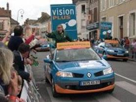 Renault Mégane Cabriolet VISION PLUS   Caravane Tour de France 2007