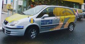 Fiat Ulysse Crédit Lyonnais   Caravane Tour de France 2002