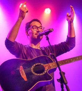 Sahnte ab: Singer-Songwriter Jonas Fisch © Marc Strohfeldt