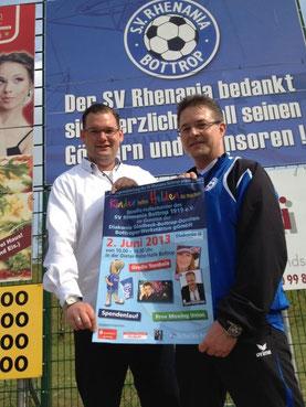 Dennis Bröhl (l.) und Marco Langnickel.