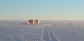 Antarktische Bohrstation Dome Concordia