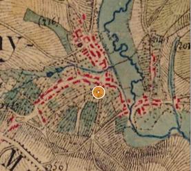 Extrait Carte d'Etat-Major (1820-1860) - IGN