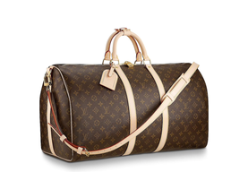 1930 Creation of the Keepall bag , the most legendary of all Louis Vuitton travel bags.   Creation of the iconic Speedy bag
