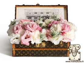 1910 Flower trunk , for privileged clients Louis Vuitton