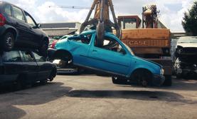 Auto verschrotten