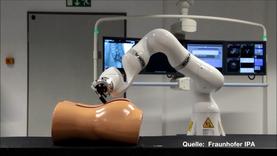Roboter, die Spritzen setzen - bereits jetzt in Entwicklung.
