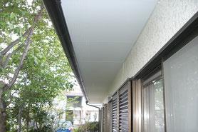軒裏天井 塗装後