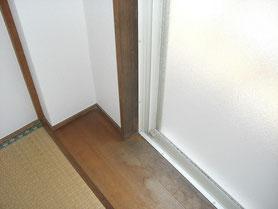 室内木部 塗装前