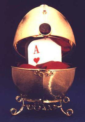 Zauberrequisit a la Fabergé