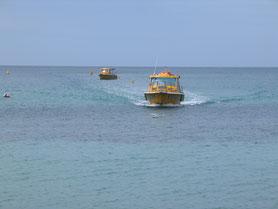 Baie des Citrons Taxi boat NC