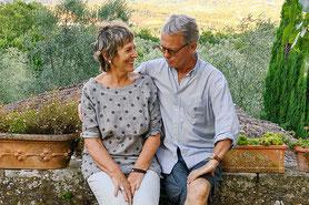 de stichters Ulla en Thierry genieten elke dag!