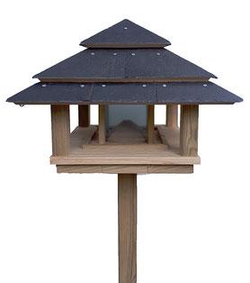 mangeoire oiseau sur pied