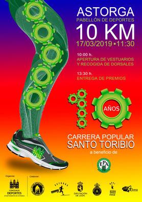 X CARRERA SANTO TORIBIO - Astorga, 17-03-2019
