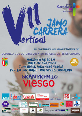 VII JANO CARRERA VERTICAL - Bárcena Pie de Concha, 01-10-2017