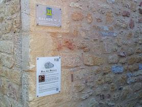 Panneaux pédagogiques dans le quartier médiéval de Gourdon. Client : Municipalité de Gourdon. Traduction du français vers l'anglais.