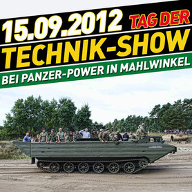 Impressionen vom Tag der Technik-Show 2012 in Bildern