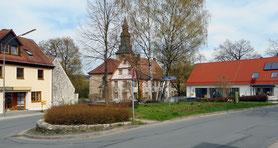 """Der Altentrebgast in St. Johannis hat mit dem Bau des neuen Gemeindehauses noch mehr Bedeutung erhalten und sollte als als """"Dorfmitte"""" aufgewertet werden."""