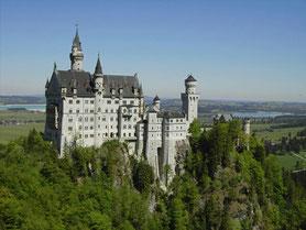 Reiseleitung zum Schloss Neuschwanstein