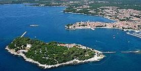 Porec Istrien Kroatien bei Hochtour-Reisen