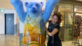 Berliner Bär mit Ella Hauptstadt