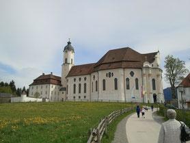 Pfaffenwinkel mit Wies, Ettal und Oberammergau