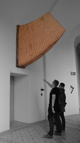 Horn  2012  Lärche  60x200x250cm