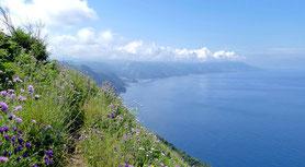 Kalabrien Steilküstenwanderung