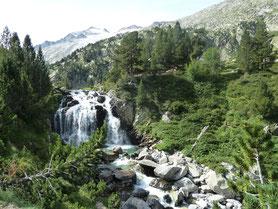Cascade d´Aiguallut en Aneto