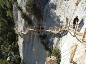 Pasarelas de Mont Rebei