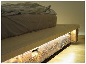 Detail Glück Schlaf Bett