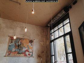 Einrichtungsstil, Wohnen, Schöner Wohnen, Wohlstil,  rohe Wände, Rohbau, Loft-Stil, Wohnen im Loft-Stil, Modern Wohnen, hohe Fenster, alte Fabrik umbauen, Wohnen Fabrik