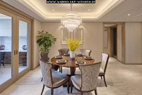 Einrichtungsstil, Wohnen, Schöner Wohnen, Wohlstil,  klassisch Einrichten, traditionell Wohnen, Esszimmer