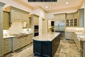 Einrichtungsstil, Wohnstil, Wohnen, Einrichten, Wohnideen, Mediterrane Küche, Mediterran Wohnen, Marmorküche