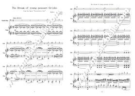 「禿山の一夜」サンプル楽譜